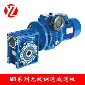 MB與RV蝸輪蝸杆減速機組合